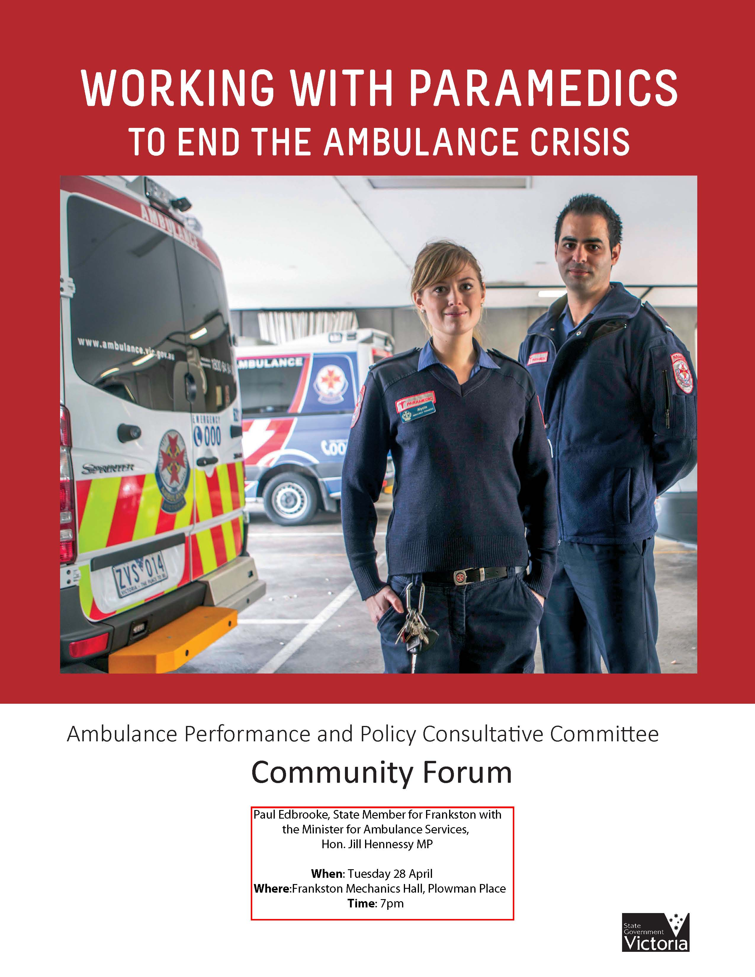 Community Forum - A3 Poster